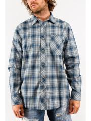 Koszula Nike Raleigh Plaid Flannel Armory Navy