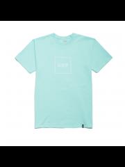 Koszulka HUF Box Logo Puff Celadon