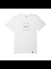 Koszulka HUF Box Logo Puff White