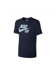 Koszulka Nike SB Logo Obsidian / Hydrogen Blue