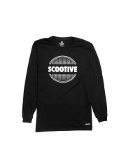 Longsleeve Scootive Sunrise Black