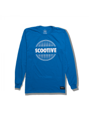 Longsleeve Scootive Sunrise Blue