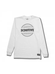 Longsleeve Scootive Sunrise White