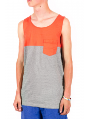 Koszulka Vans Burke Tank Living Coral / Heather