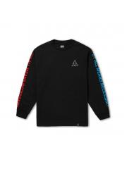 Longsleeve HUF Multi Triple Triangle Black