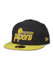 Czapka New Era ABA Classic Pittsburgh Pipers Black / Yellow