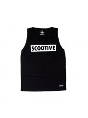 Koszulka Scootive Classic Tank Top Black