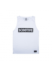 Koszulka Scootive Classic Tank Top White