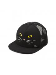 Czapka Vans Lawn Party Trucker Black Cat