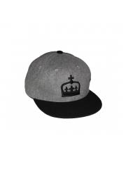 Czapka DUB Crown Snapback Grey