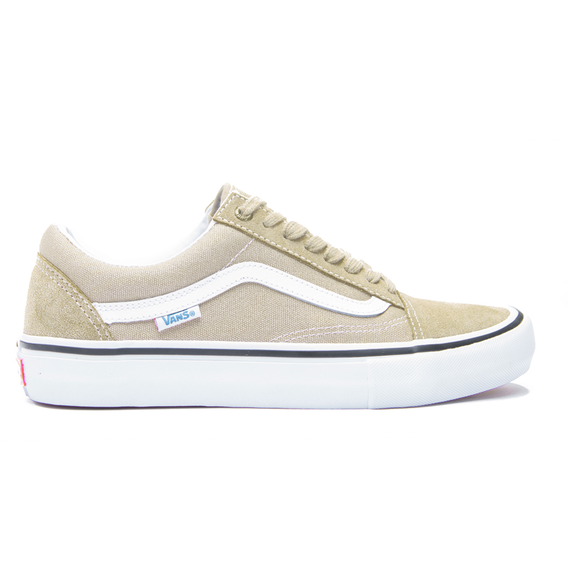buty vans old skool pro khaki white hulajnogi. Black Bedroom Furniture Sets. Home Design Ideas