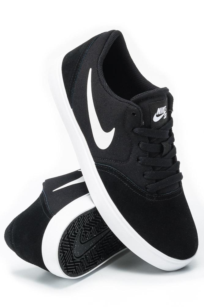 Cena fabryczna wspaniały wygląd oficjalny sklep Nike SB Check GS (Black / White) : buty skate : Sklep on ...