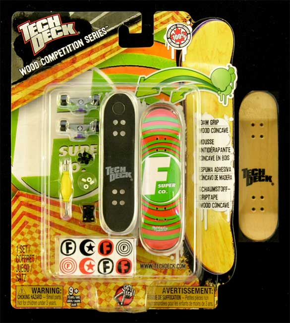 Fingerboard Wood Competition Series Tech Deck Fundation