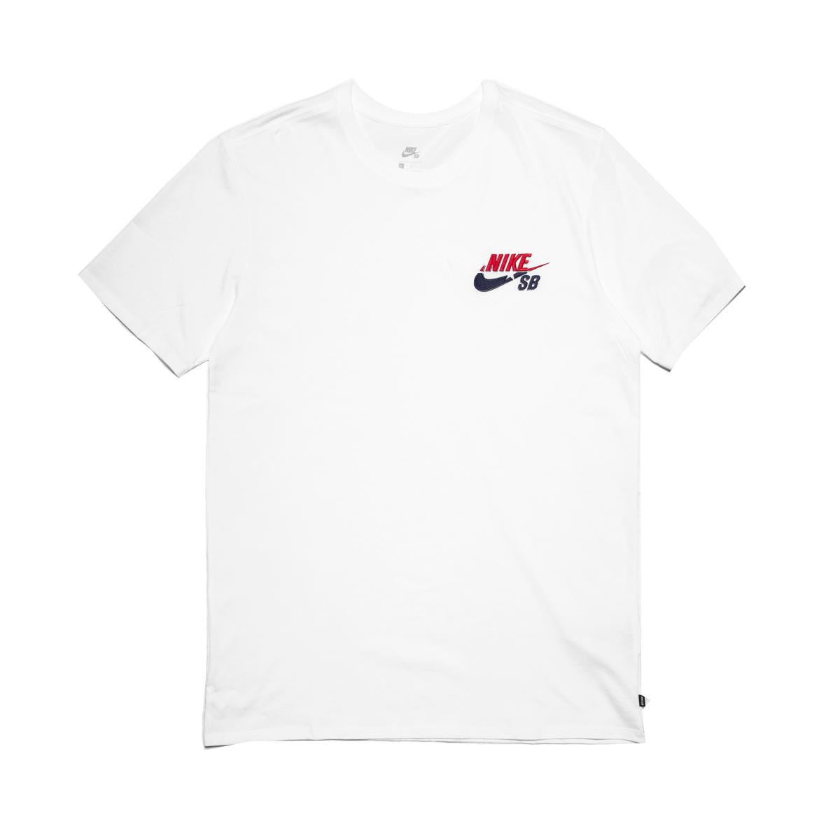 Koszulka Nike SB Futura White : Hulajnogi wyczynowe, części