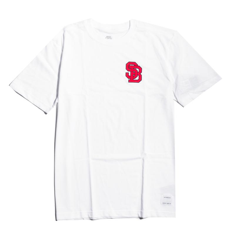 Stany Zjednoczone gorąca sprzedaż online Kup online Koszulka Nike SB DriFit Lockup White : Hulajnogi wyczynowe ...