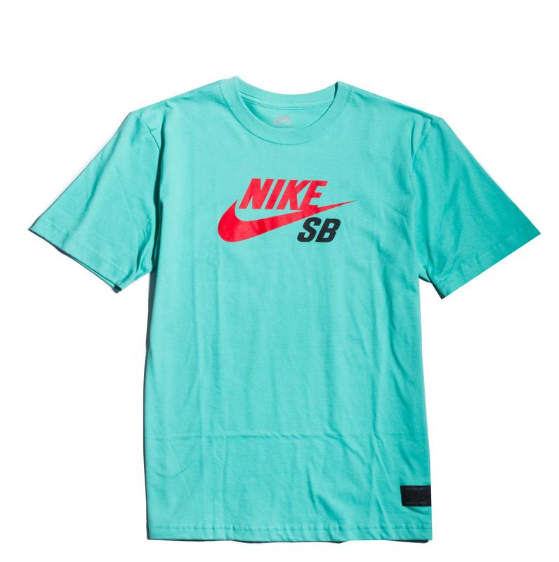 urzędnik oficjalny dostawca przed Sprzedaż Koszulka Nike SB Icon Crystal Mint / Lt Crimson : Hulajnogi ...