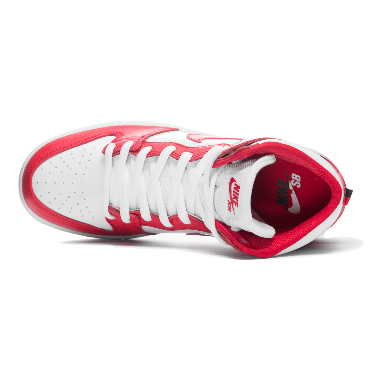 cheap for discount 67f77 4b9ab Buty Nike SB Zoom Dunk High Pro University Red / White ...