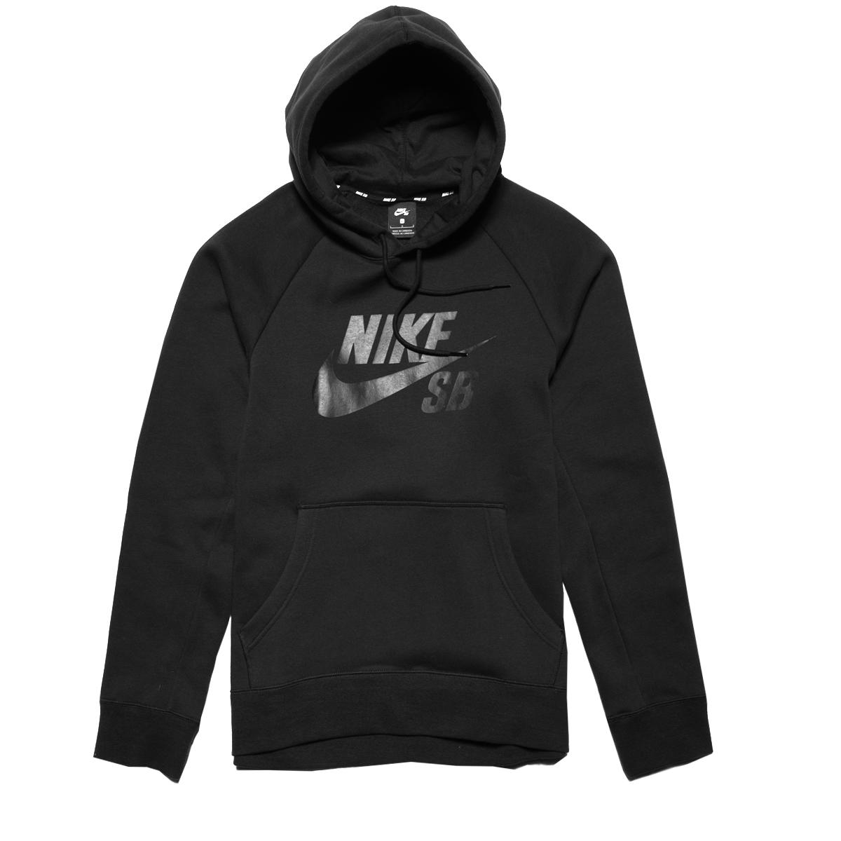 na stopach zdjęcia tanie z rabatem dostać nowe Bluza Nike SB Icon Black / Black Hoodie : Hulajnogi ...