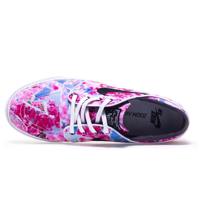 Nike SB Zoom Stefan Janoski CNVS Premium Dynamic (Pink   Black ... 0374bec0fdd