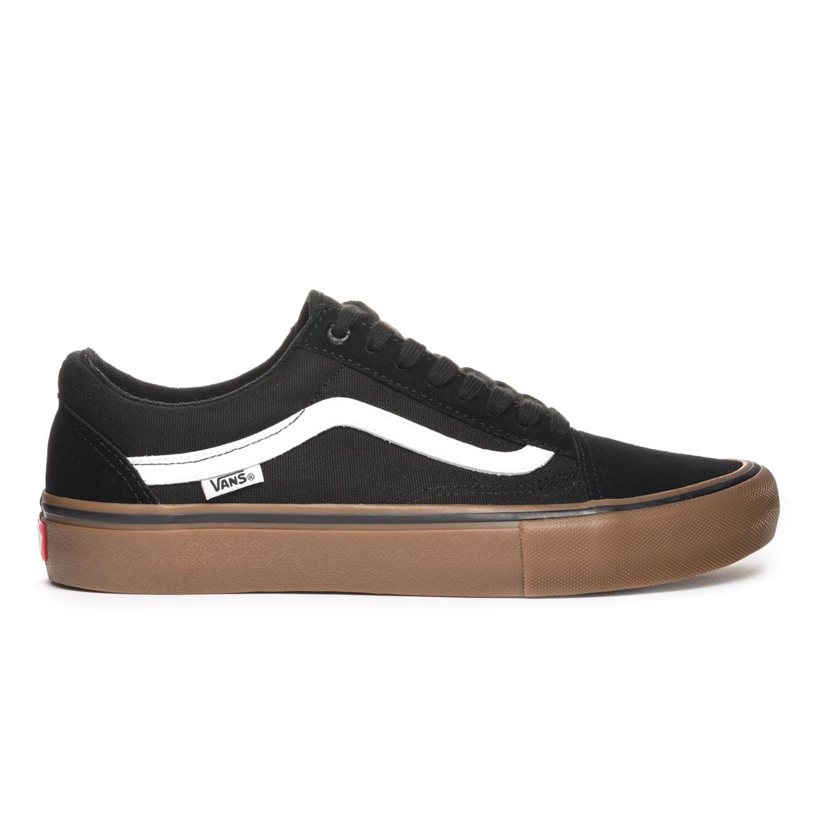 1a76850181d1fb ... Buty Vans Old Skool PRO Black   White   Medium Gum · Zdjęcie produktu